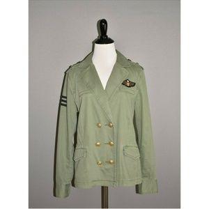 CABI Sergeant Green Military Jacket